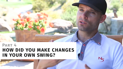 How I Made Meaningful Changes to My Own Swing